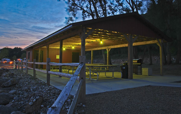 Yankton Camping-The Picnic Center and Playground