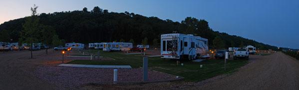 Yankton Camping-Camping Pads and Trailer Parking